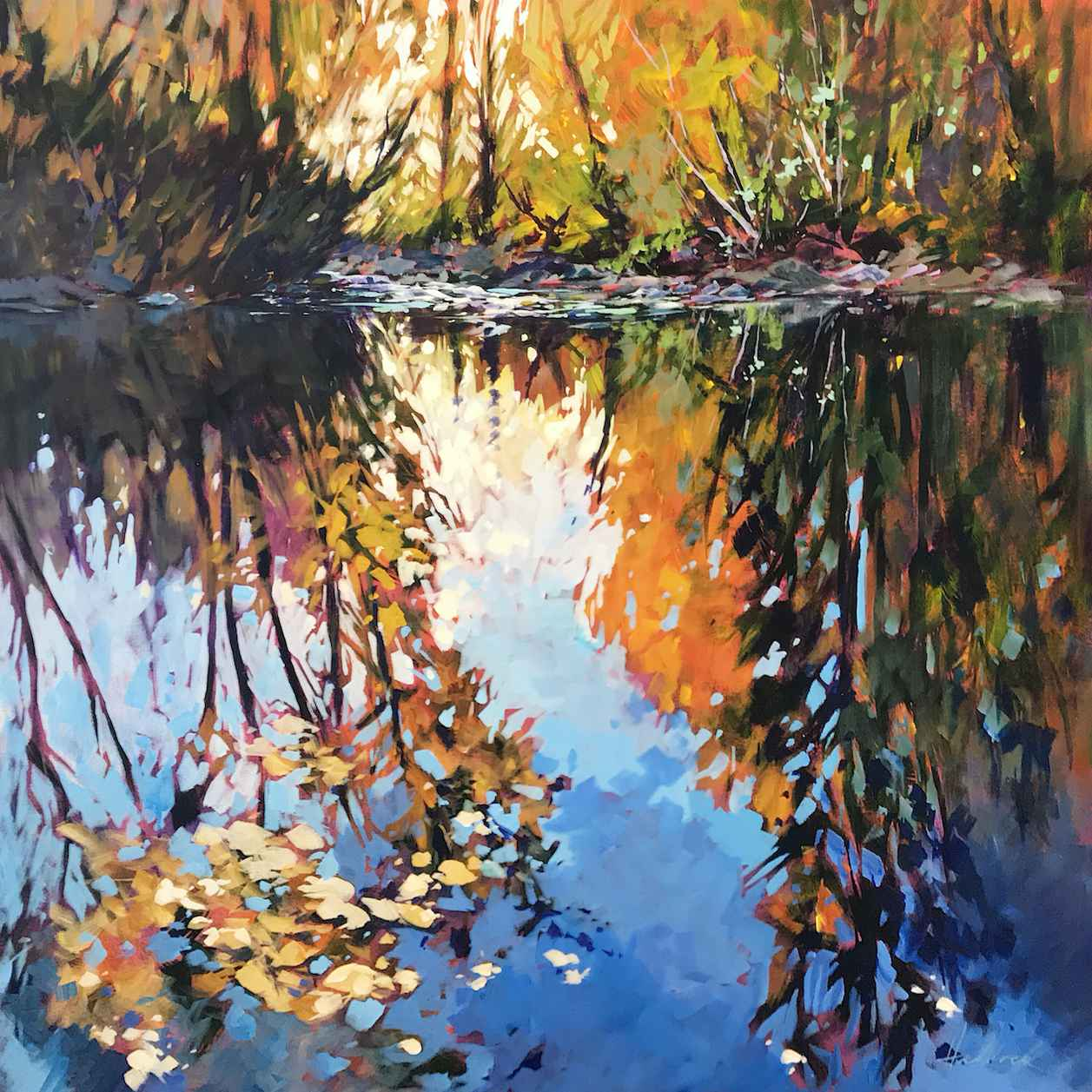 Where the River Rests by  Perry Haddock - Masterpiece Online