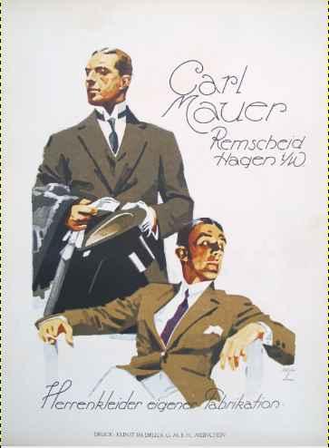 KBE101 - 1926 Carl Ma... by  Ludwig Hohlwein - Masterpiece Online