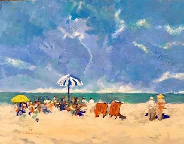 Untitled (Beach Scene) by  Mary Theisen - Helm - Masterpiece Online
