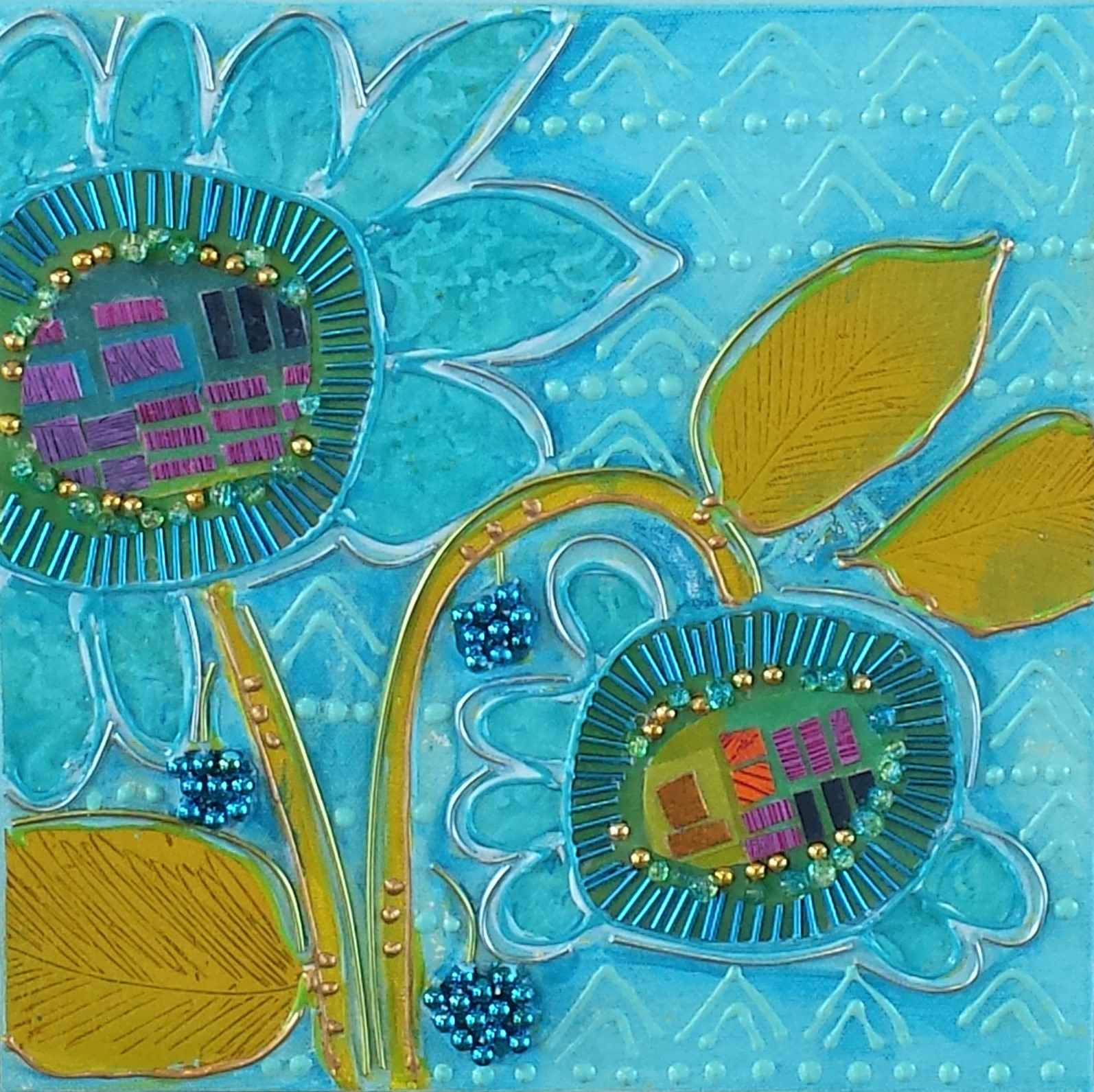 Blue Flower by  Thomas Kulich - Masterpiece Online