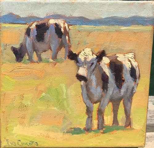 Sunshine Calves by  Eva Cincotta - Masterpiece Online
