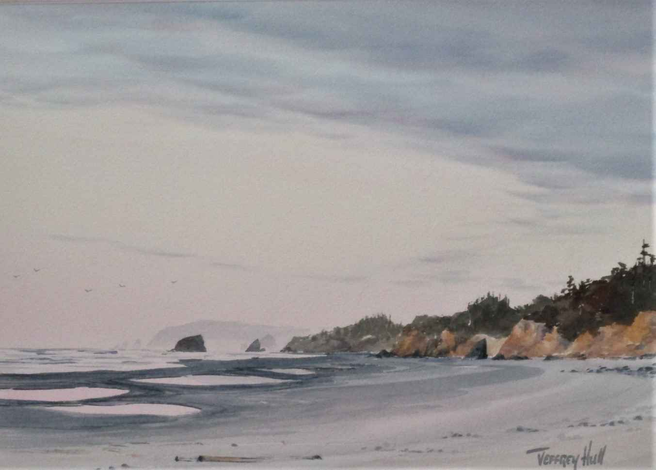 Unknown (Pink Beach) by  Jeffrey Hull - Masterpiece Online