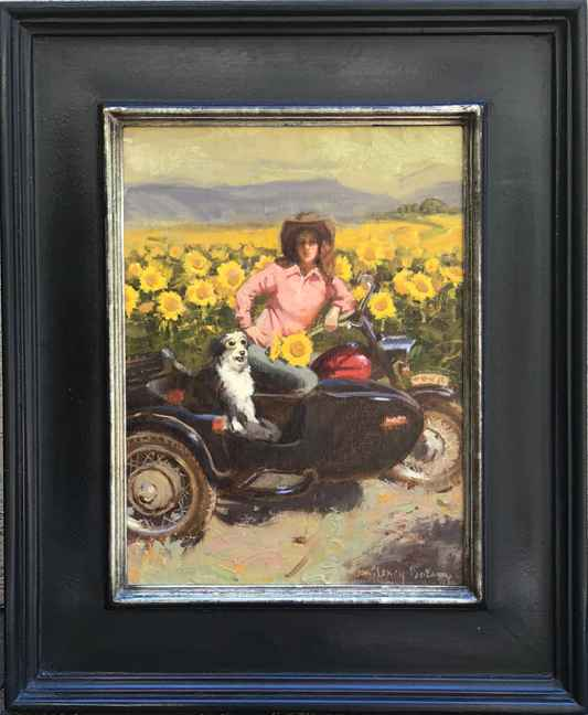 Sea of Yellow by  Nancy Boren - Masterpiece Online