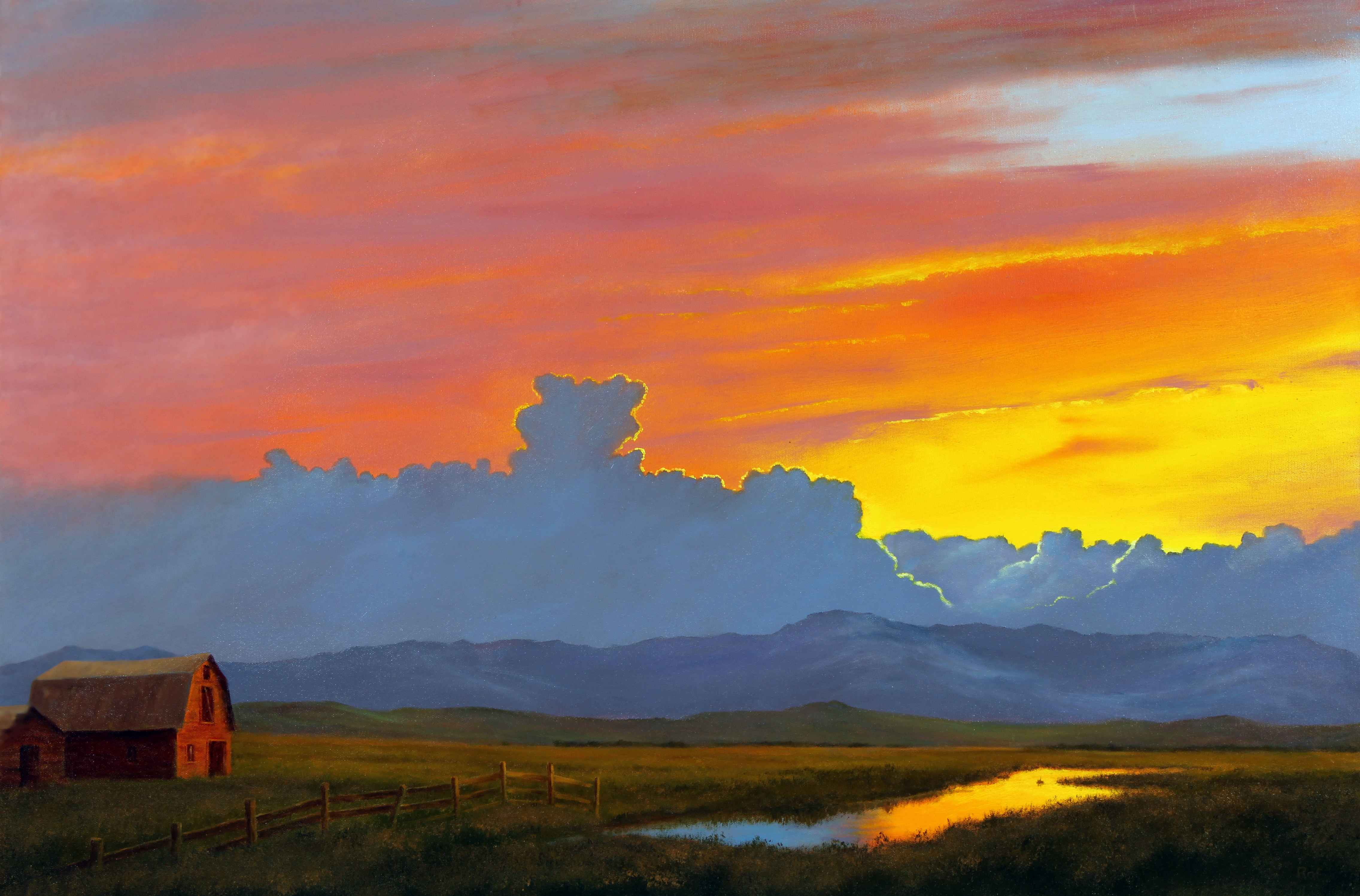 Quiet Evening by  Ted Raftery - Masterpiece Online