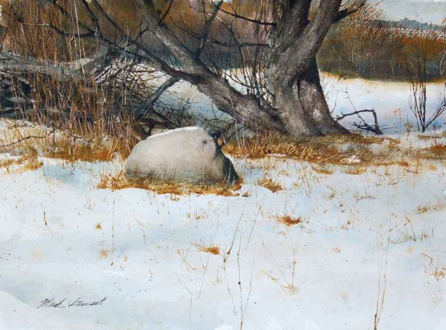 Overnight Snow by Mr Mark Stewart - Masterpiece Online