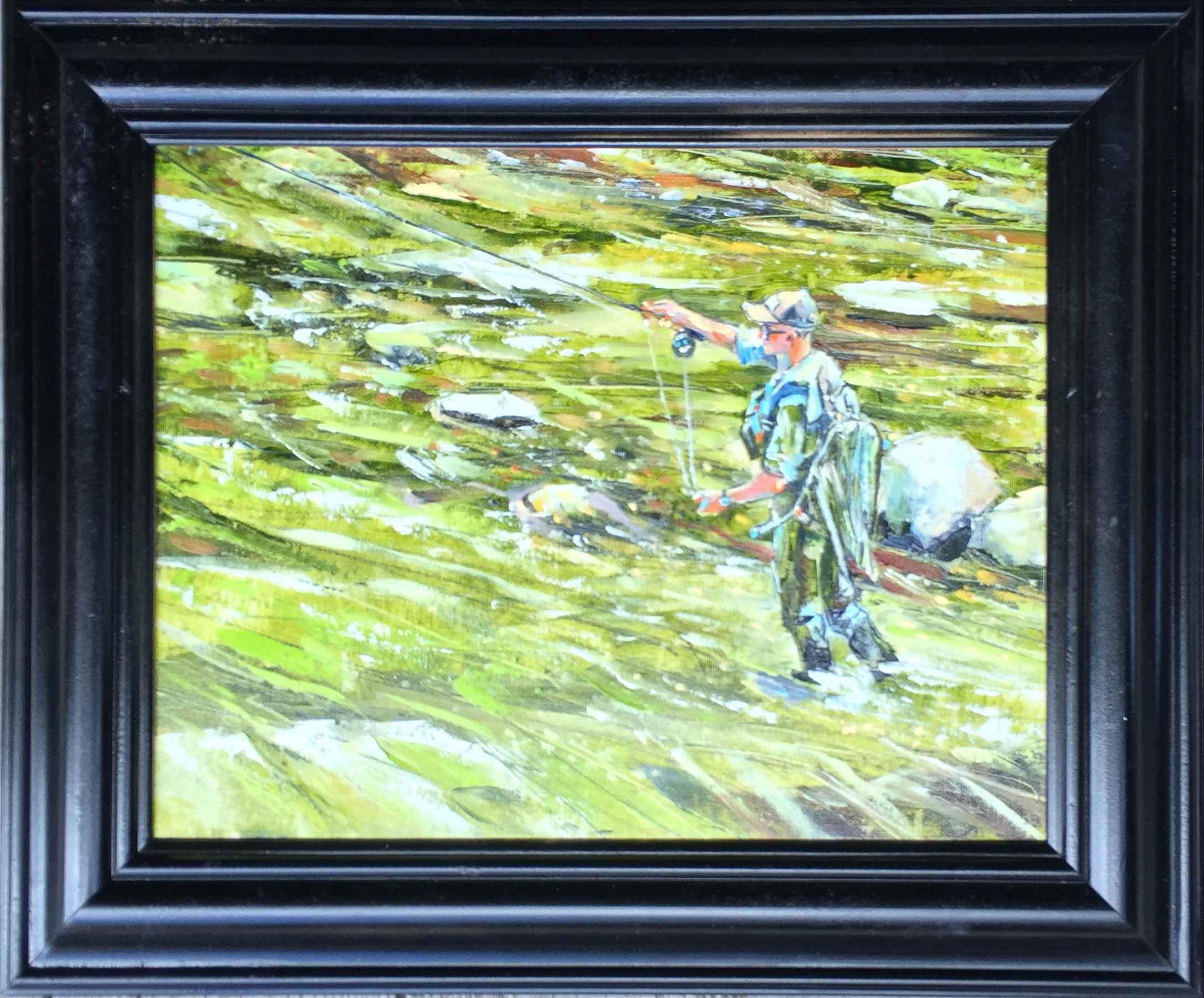 Working The Pockets by  David Volsic - Masterpiece Online