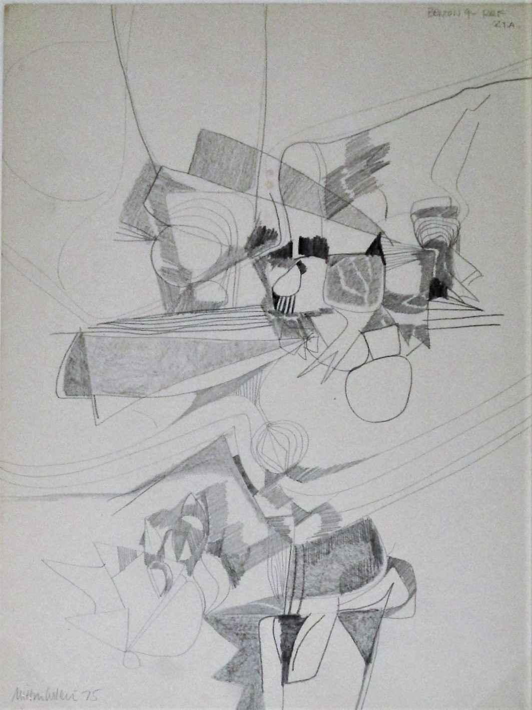 Untitled ( Benton 4-R... by  Milton Wilson - Masterpiece Online