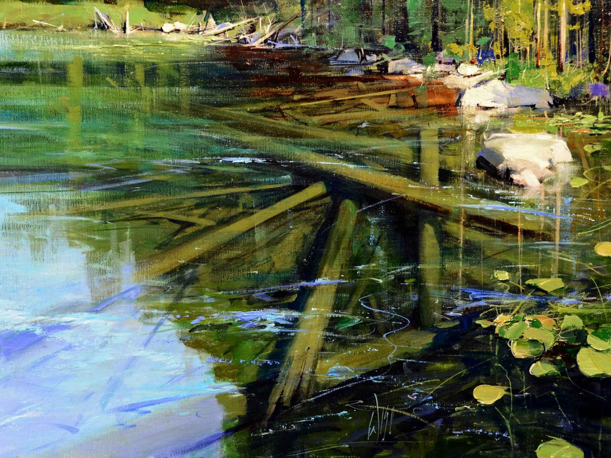 Clear Water Lake  by  Mike Wise