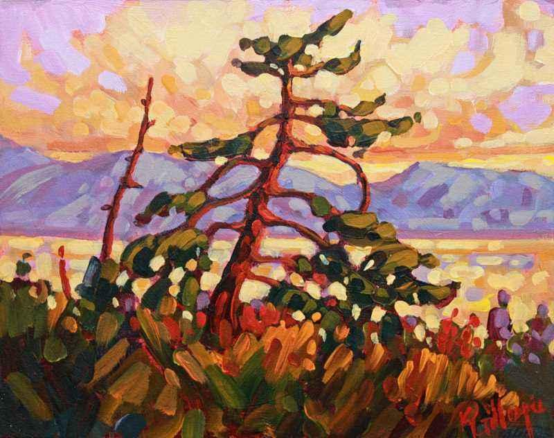 Lakeside Sunset by  Ken Gillespie - Masterpiece Online