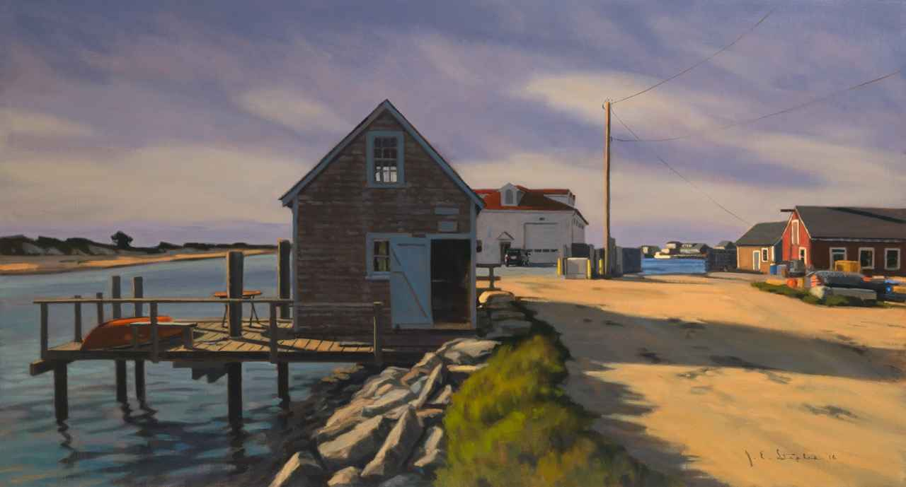 View Toward the Coast... by  Jeanne Staples - Masterpiece Online