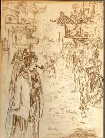 Mardi Gras by  Henri de Toulouse Lautrec - Masterpiece Online