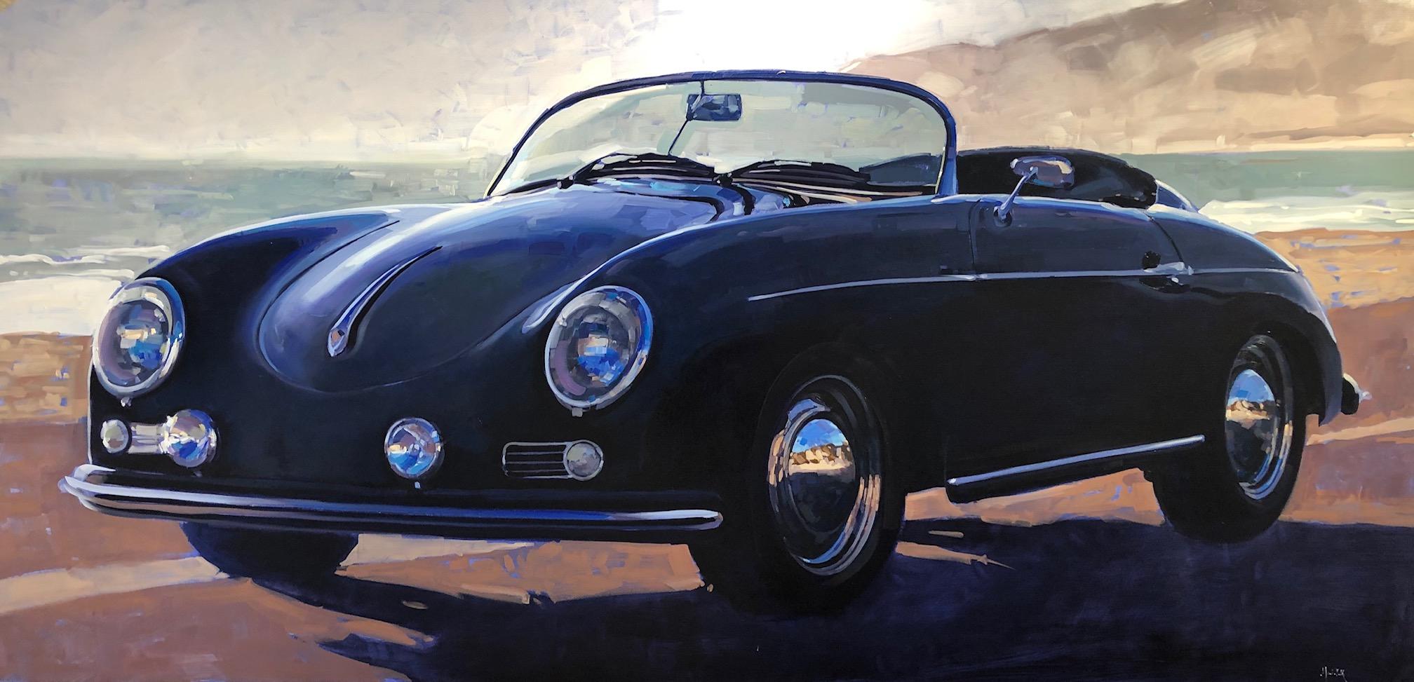 Ein schwarzer Porsche by Mr. Santiago Michalek - Masterpiece Online