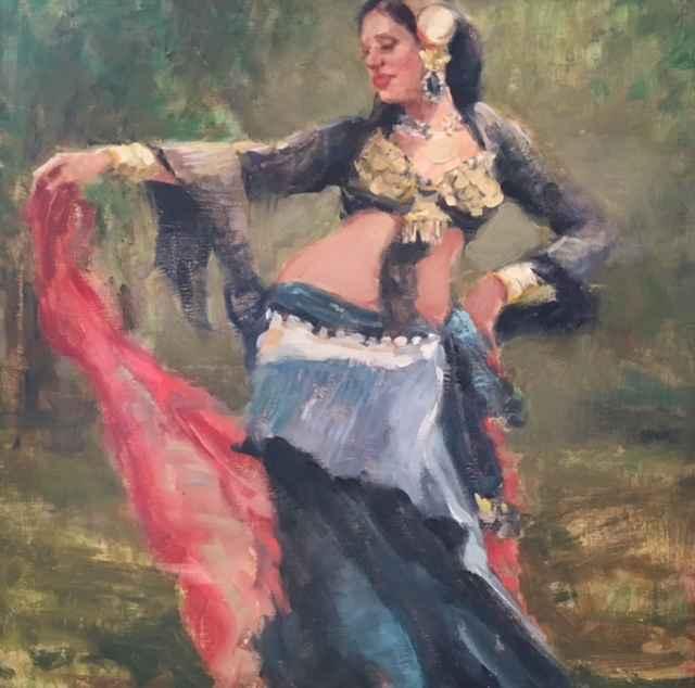 Belly Dancer by  Melinda Morrison - Masterpiece Online