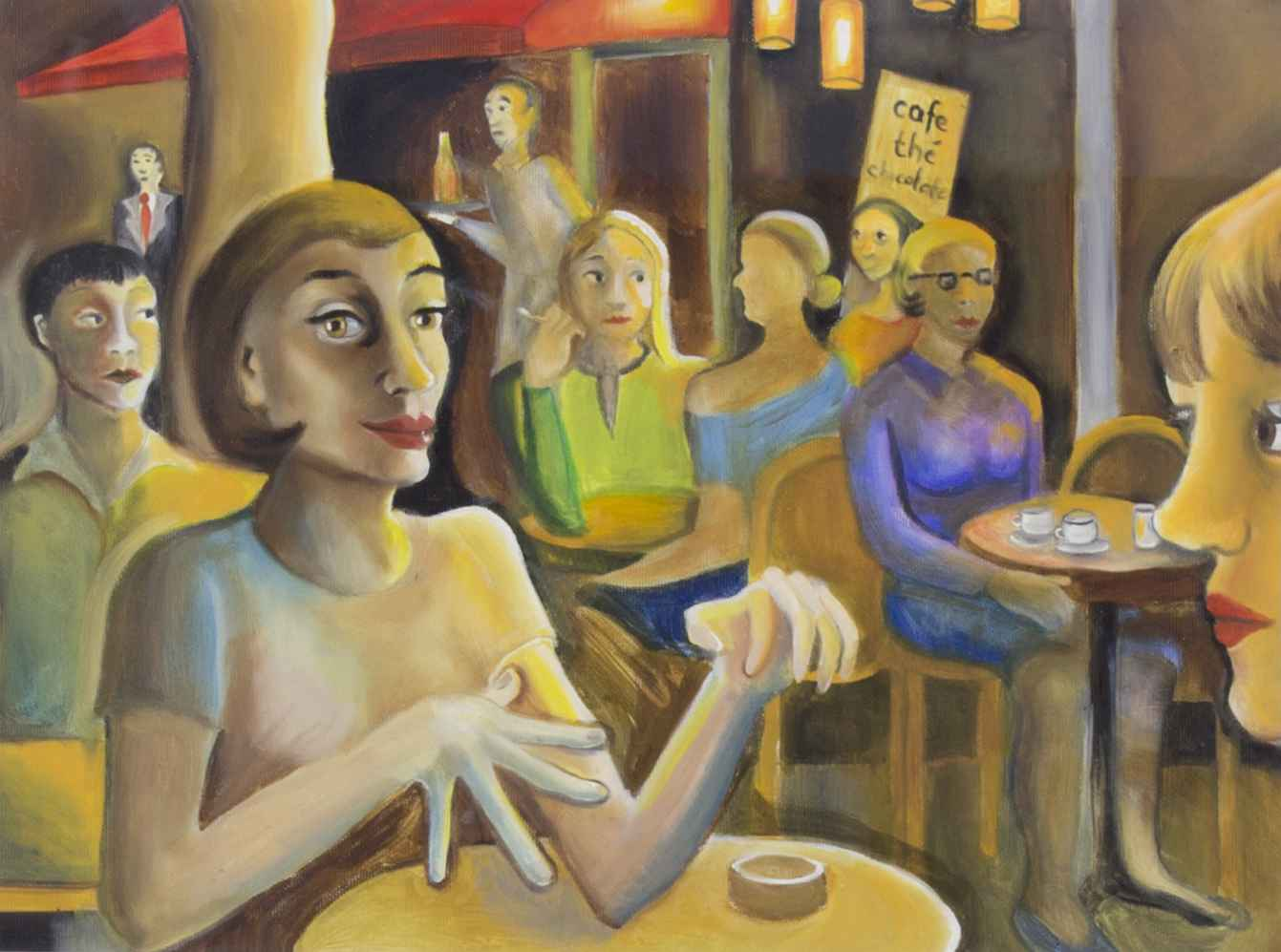 Evening at Bastille by Ms. Rebecca Vincenzi - Masterpiece Online