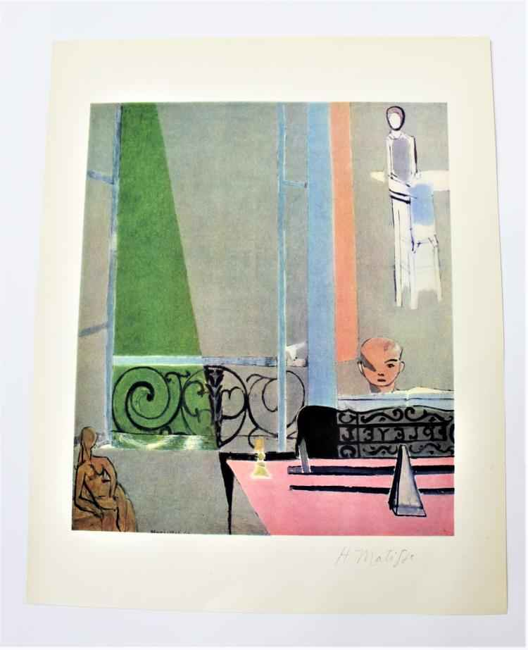 The Piano Lesson by  Henri Matisse - Masterpiece Online