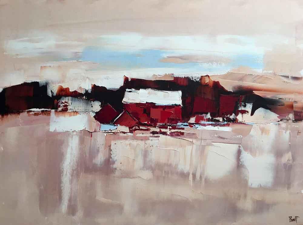 Red House  by  Sandra Pratt
