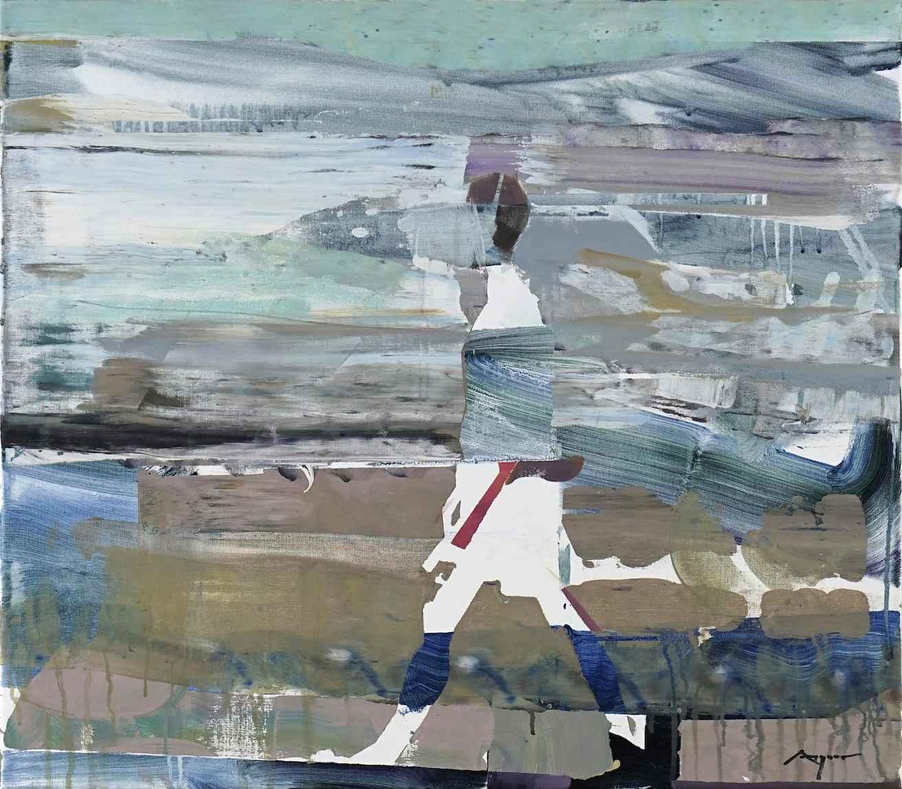 Beach Walking by Mr. Michael Azgour - Masterpiece Online