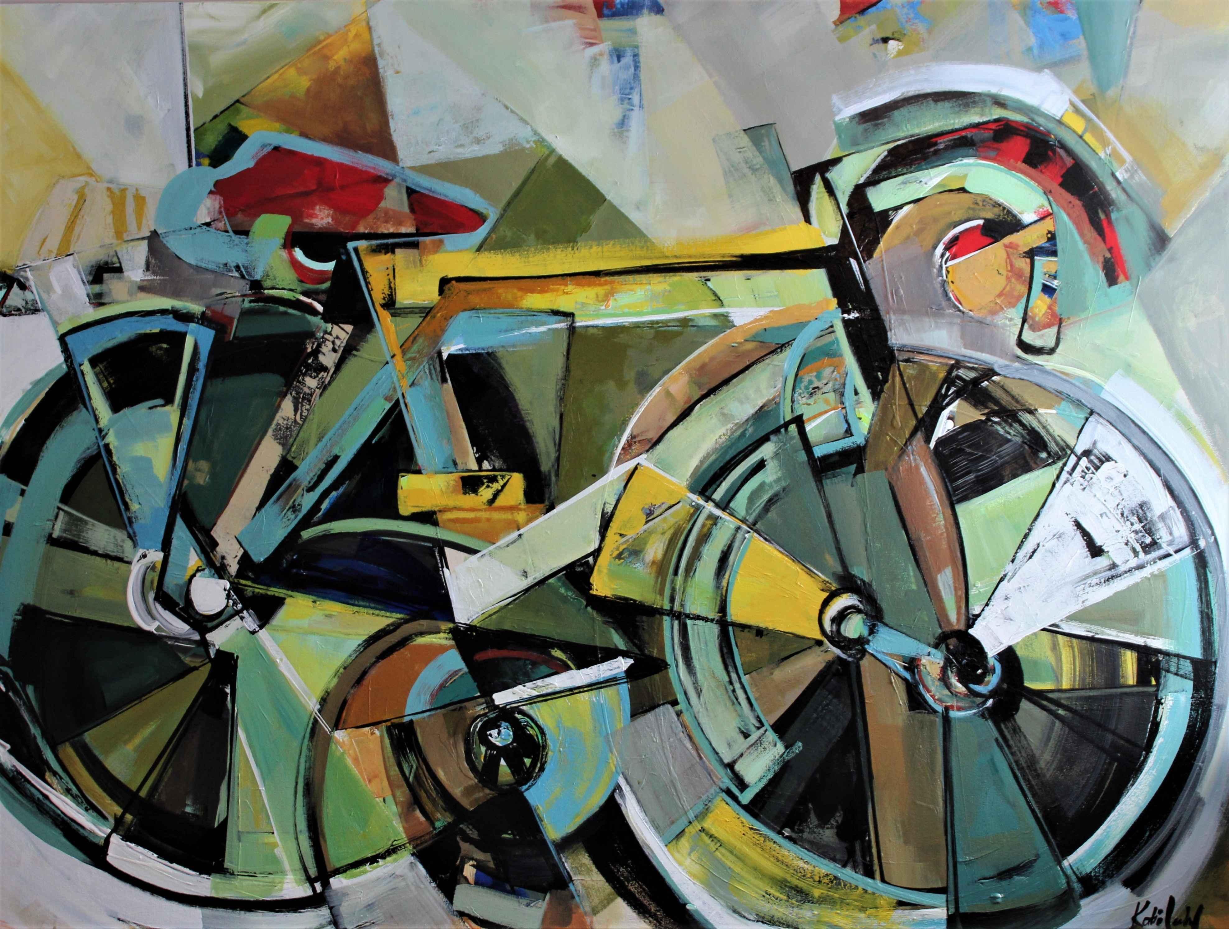 Sunshine Bike by  Katie Leahul - Masterpiece Online