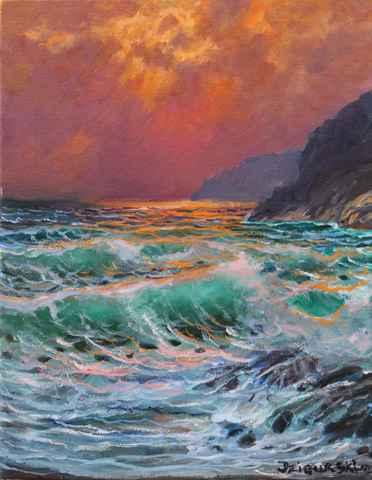 Pastel Sky by  A Dzigurski II - Masterpiece Online