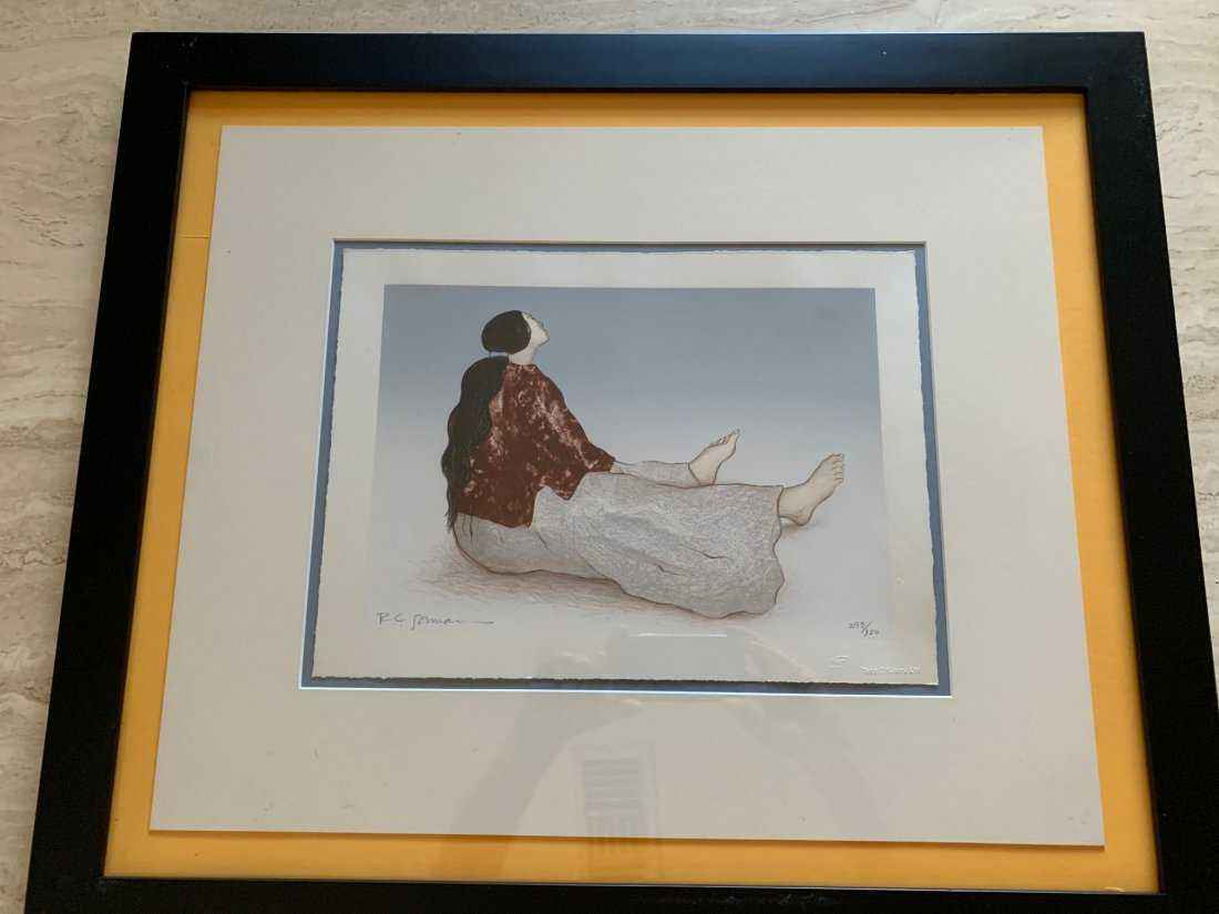 Woman From Taos by  R.C. Gorman - Masterpiece Online