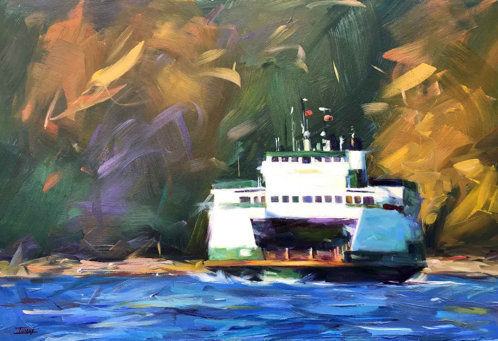 Ferry Tale  by  Pam Ingalls