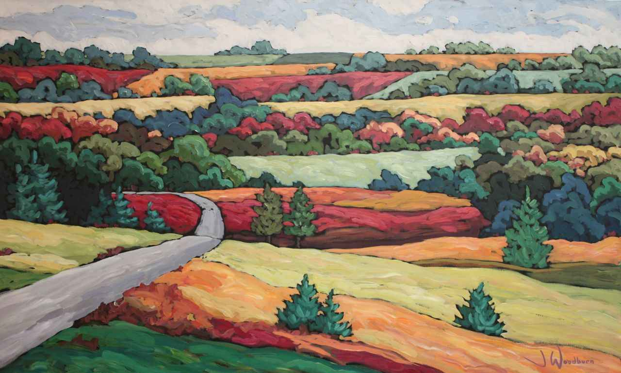 Beaver Valley Bend by Ms Jennifer Woodburn - Masterpiece Online