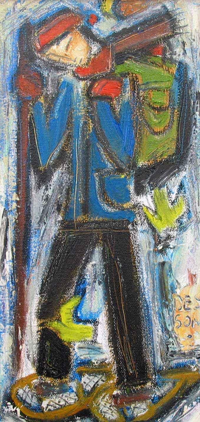 Le Vagabond (Wanderin... by  Denis Chiasson - Masterpiece Online