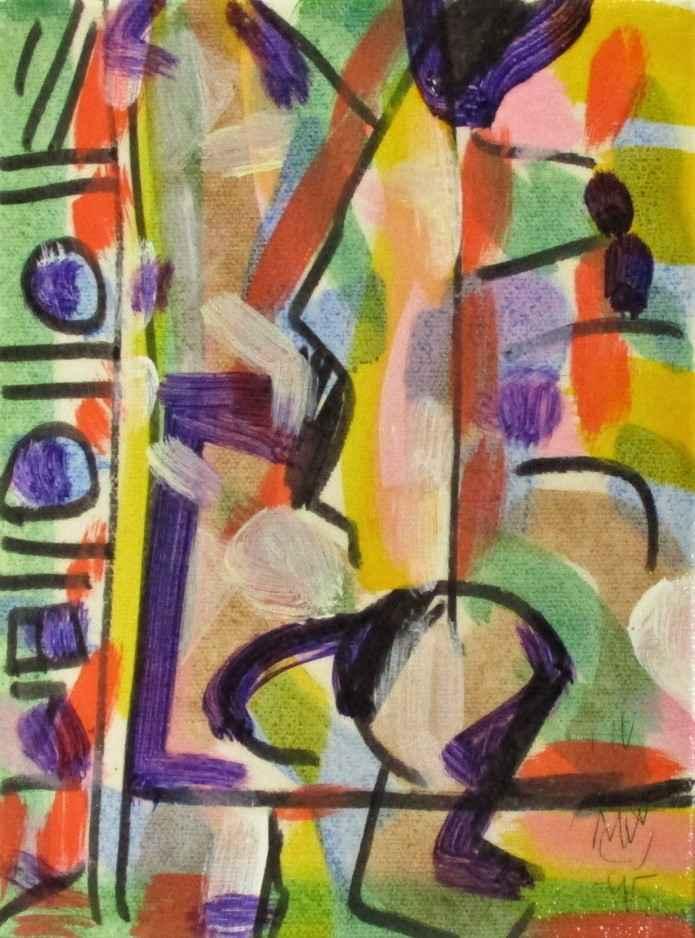 Untitled (Purple) by  Milton Wilson - Masterpiece Online
