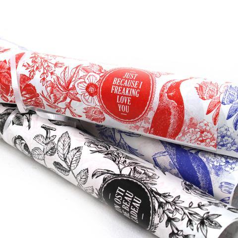 Gift Wrapping Paper R... by  Marie-Claude Marquis - Masterpiece Online