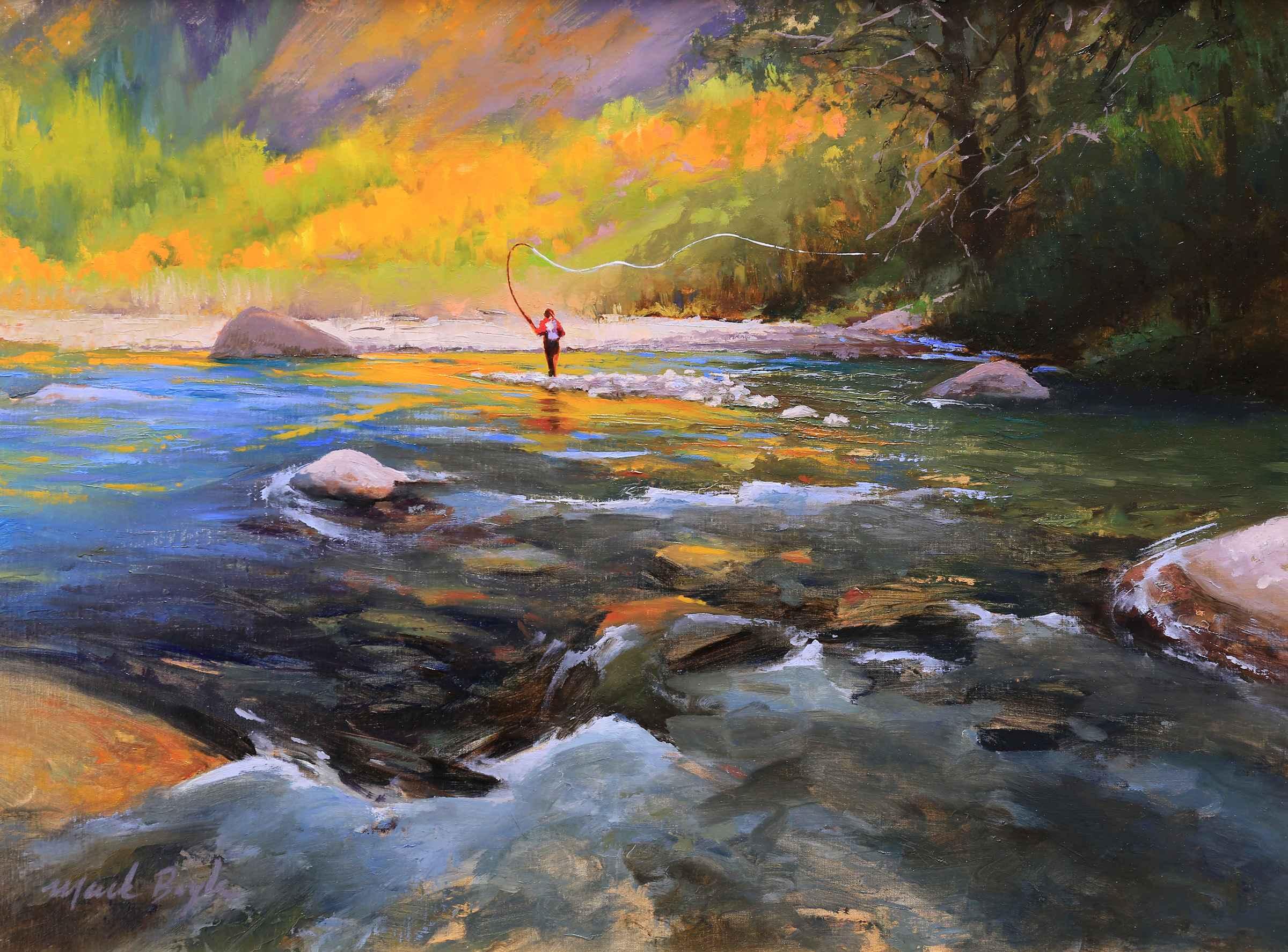 Baker River  by Mr Mark Boyle