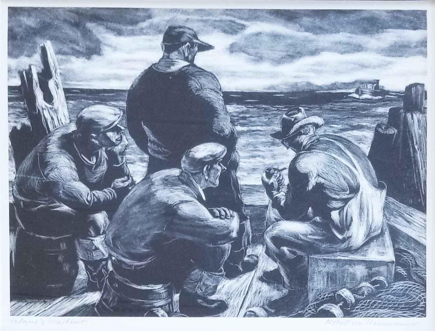 Islands Mailboat by Mr. Robert von Neumann - Masterpiece Online