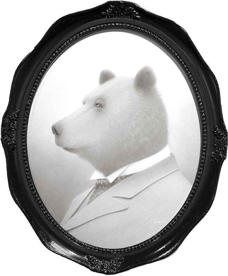 Howard the Bear by Travis Louie