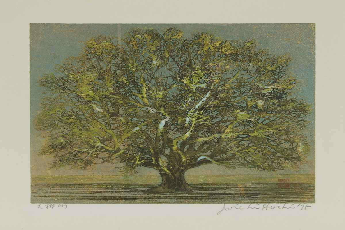 Great Tree in Early S... by  Joichi Hoshi - Masterpiece Online