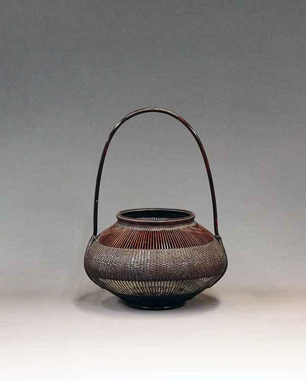 Untitled Flower Basket  by  Chikubosai II Maeda