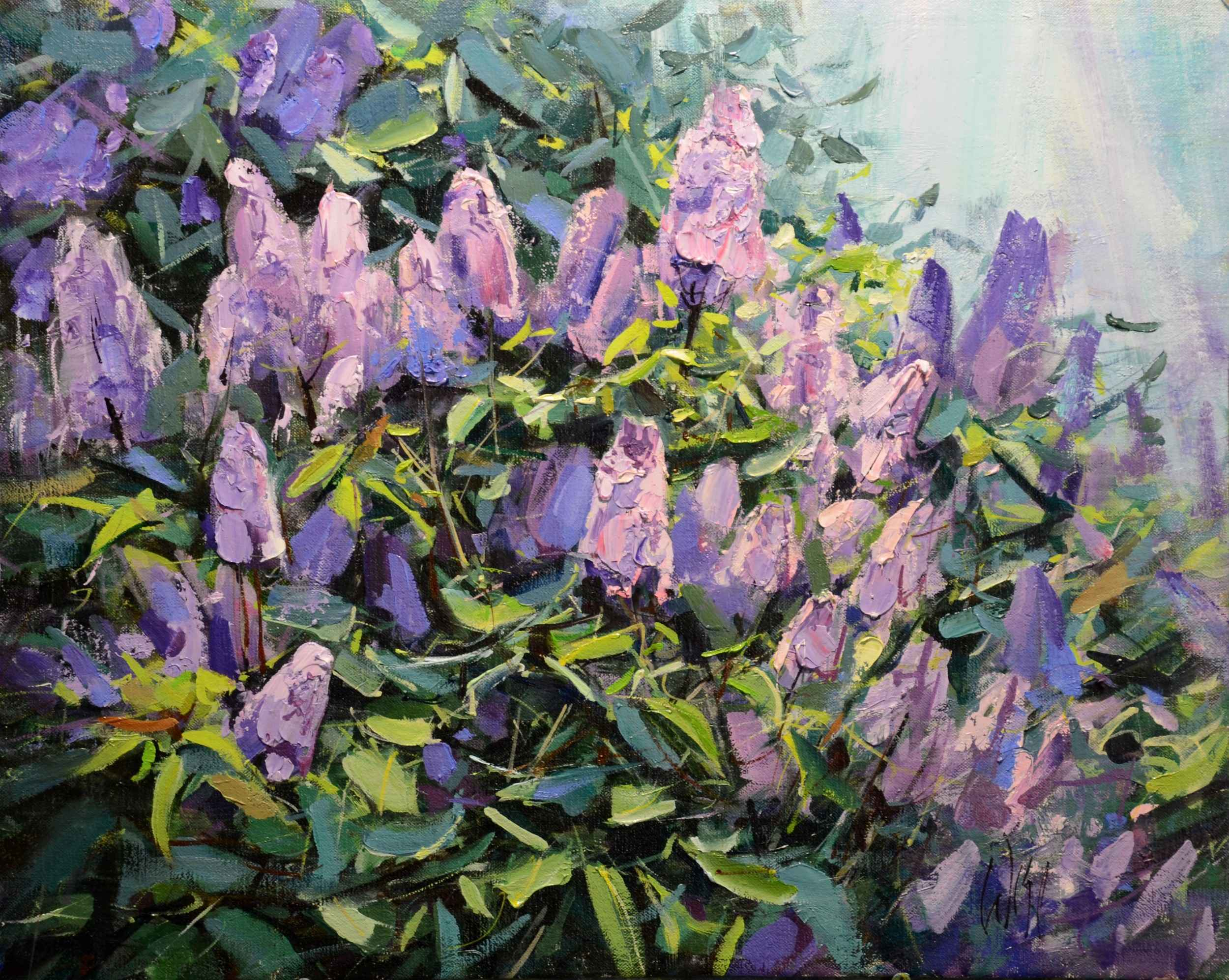 Lilacs by  Mike Wise - Masterpiece Online
