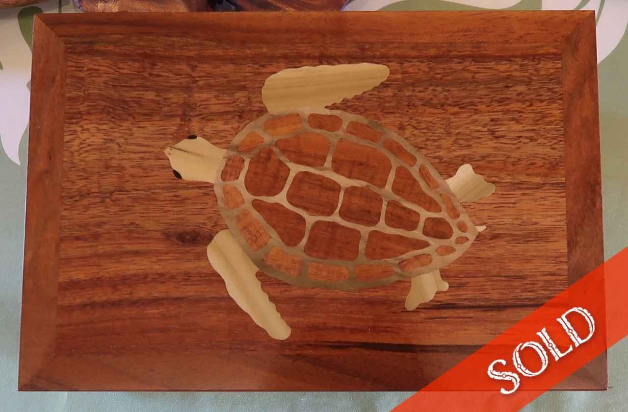 Koa Honu Jewelry Box by Mr. & Mrs. David & Doni Reisland - Masterpiece Online