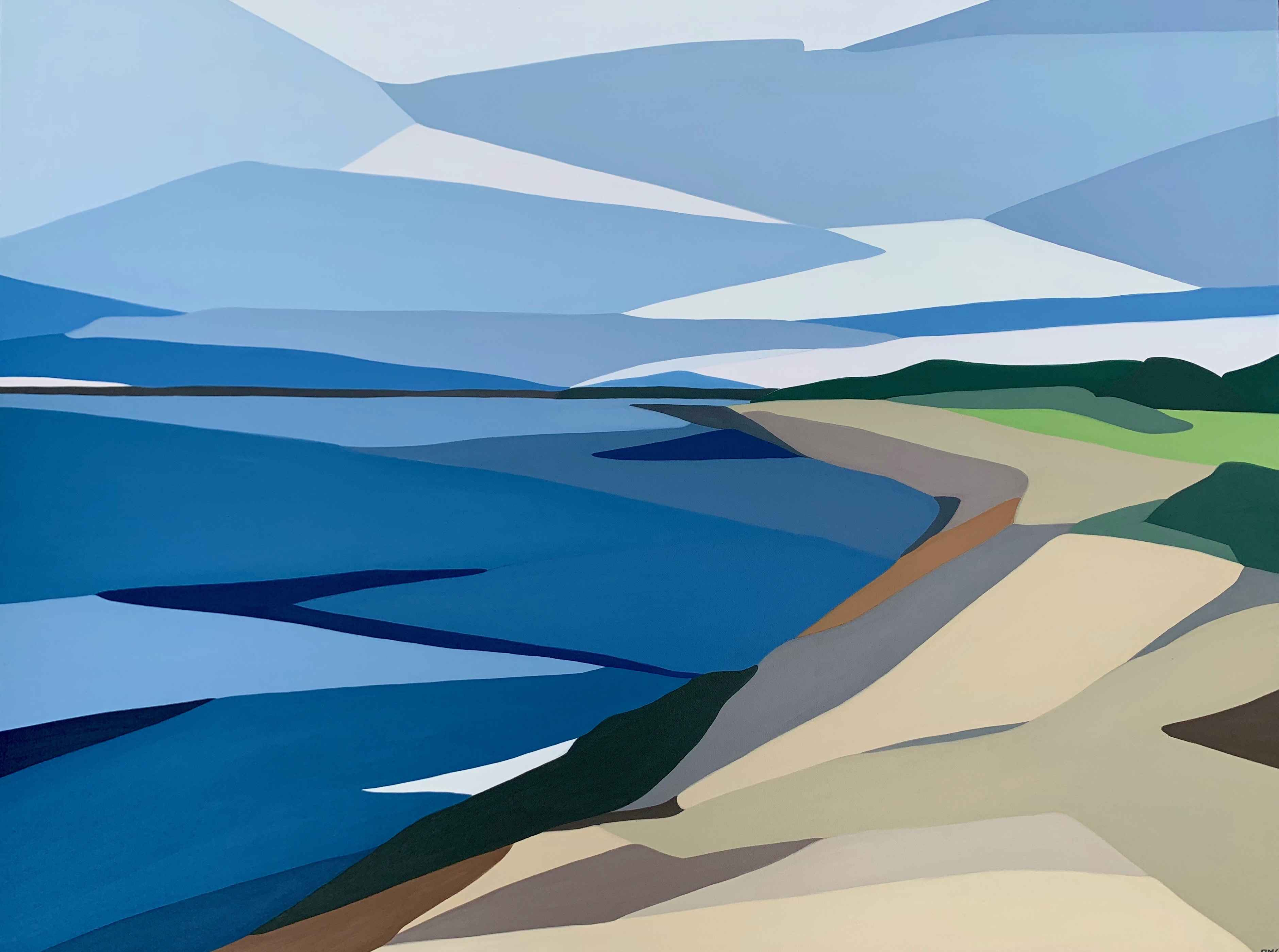 Vineyard Haven's Shore by  Rachael Cassiani - Masterpiece Online