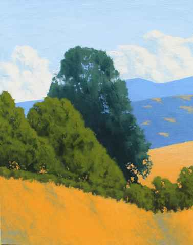 Valley Trees  by  Donald  Craghead