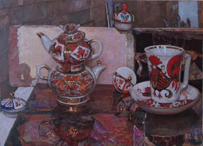 Russian Tea Party, V by  Daud Akhriev - Masterpiece Online