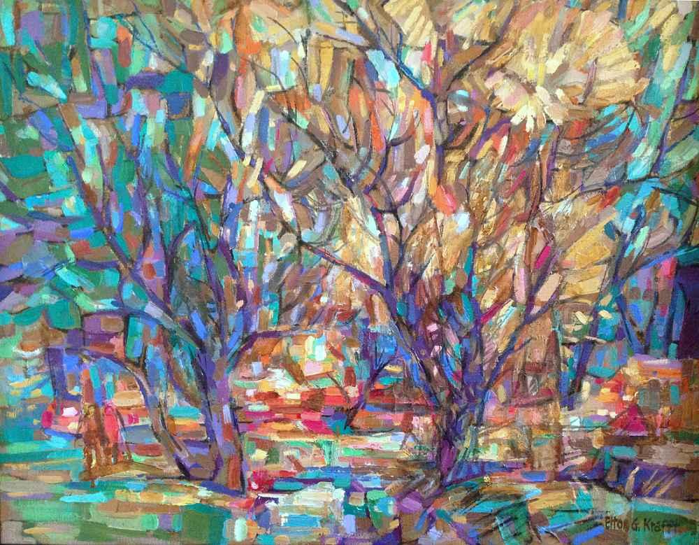 Willows - Honey Creek by  Elton Krafft - Masterpiece Online