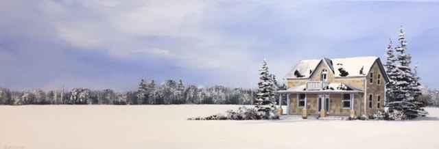 A Country Winter by  Janet Liesemer - Masterpiece Online