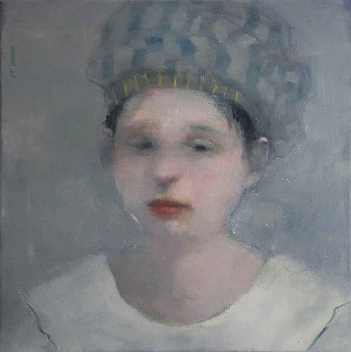 Striped Headdress  by  J.T. Winik