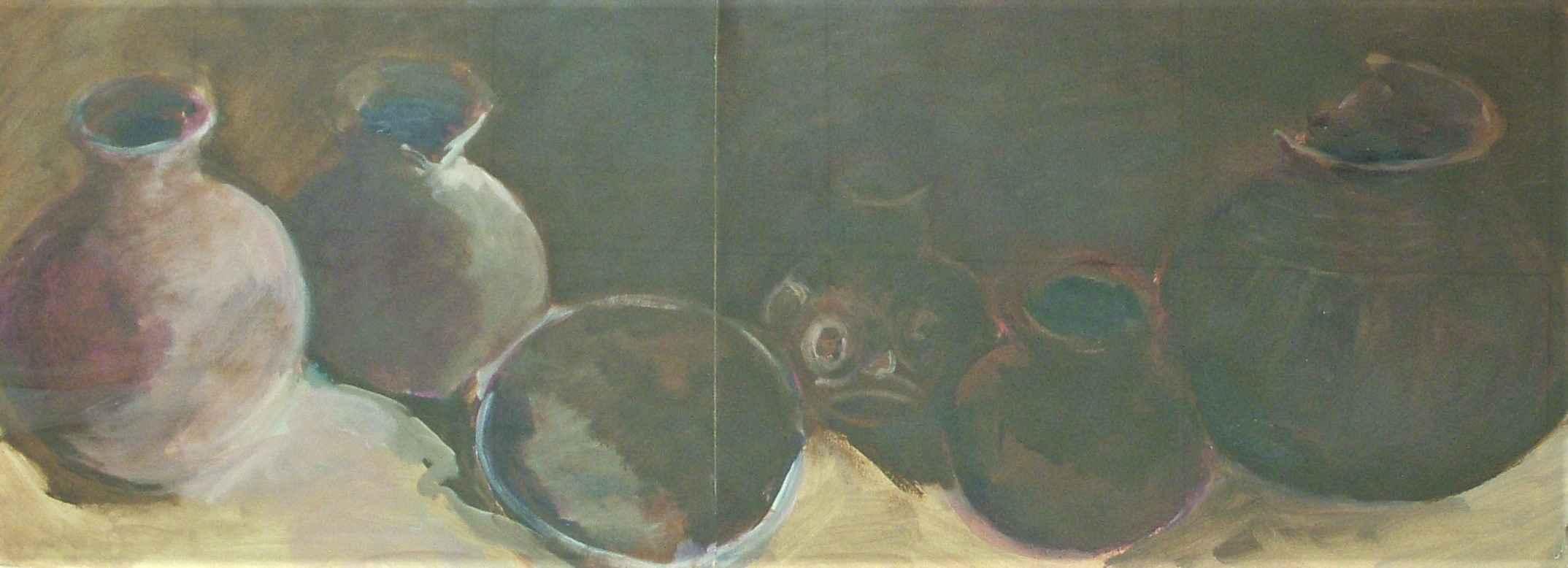 Unknown (pots) by  Shirley Gittelsohn - Masterpiece Online