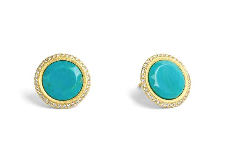 Tisanni Turquoise Ear... by  Bernd Wolf - Masterpiece Online