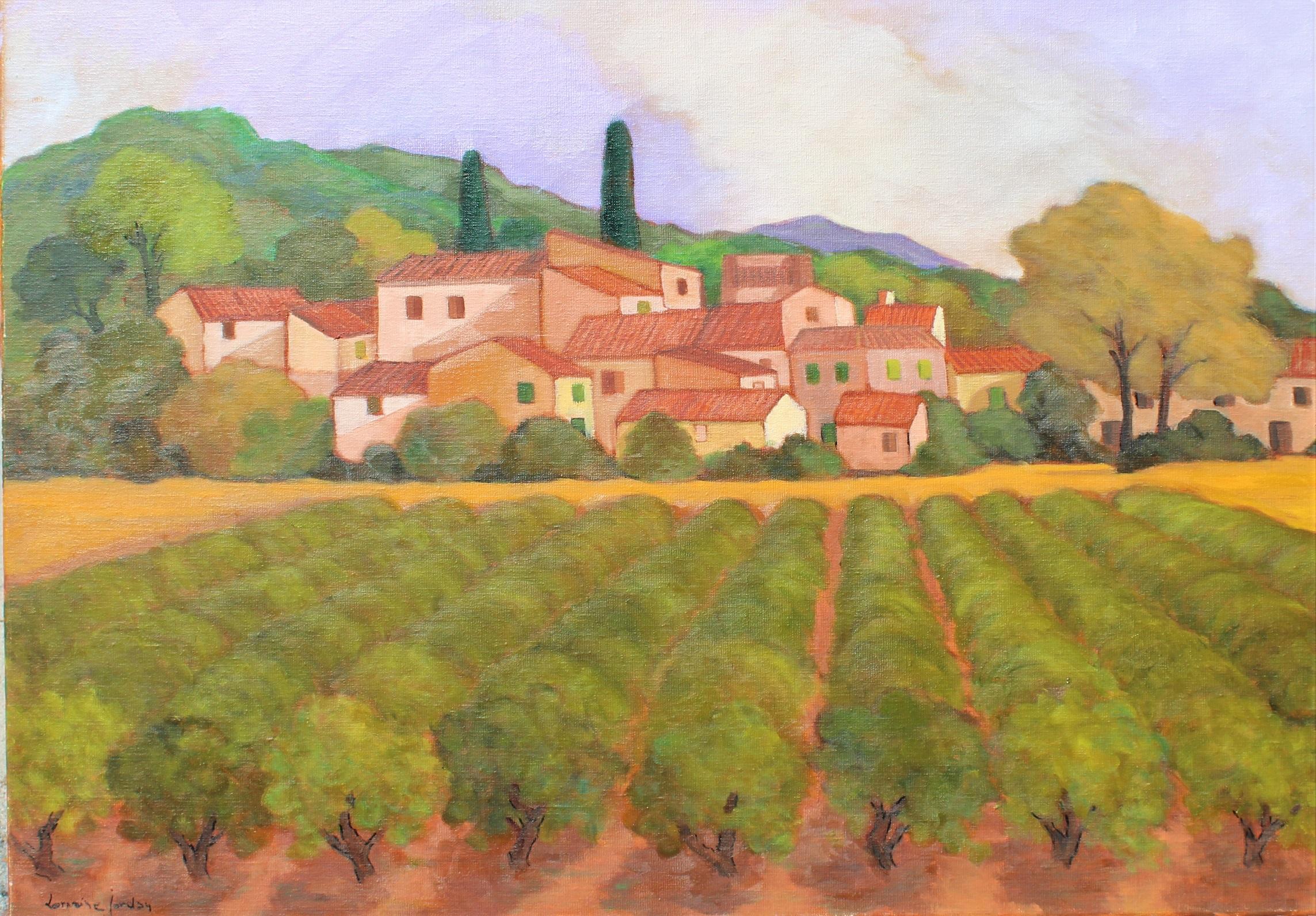 Le Village aux Vignes... by  Lorraine  Jordan - Masterpiece Online