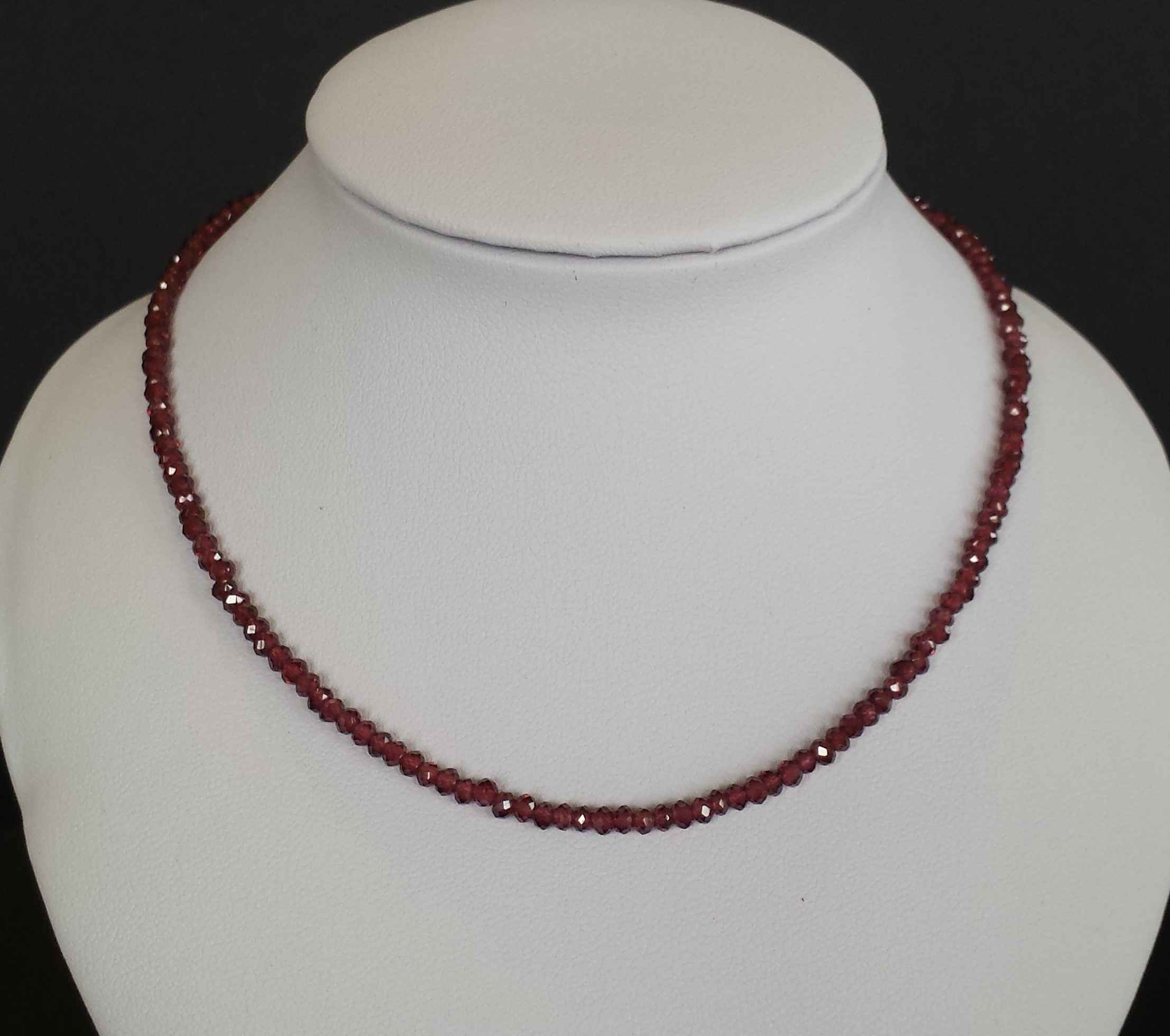 Faceted Micro Garnets... by Ms. Nancy Going - Masterpiece Online