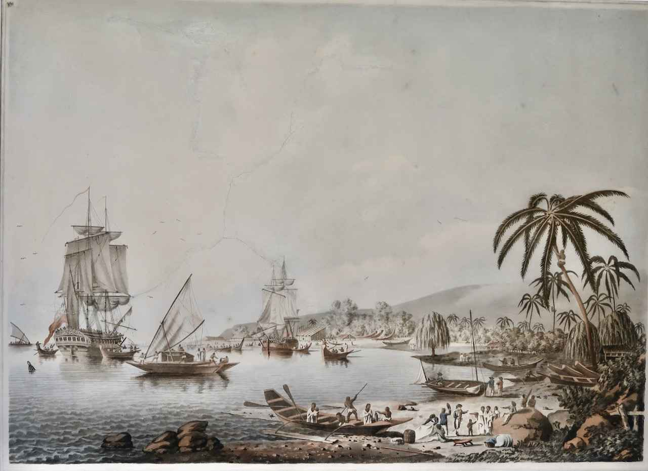 View of Charlotte Sou... by  Francis Jukes (1745-1812) - Masterpiece Online