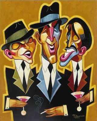 Rat Pack Blues by  Tim Rogerson - Masterpiece Online