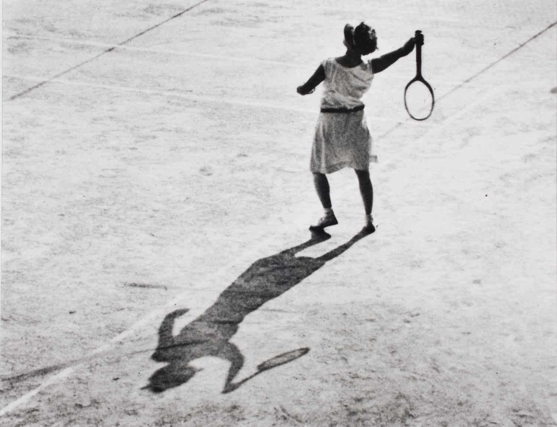 Woman Playing Tennis,... by  Alfred Eisenstaedt - Masterpiece Online