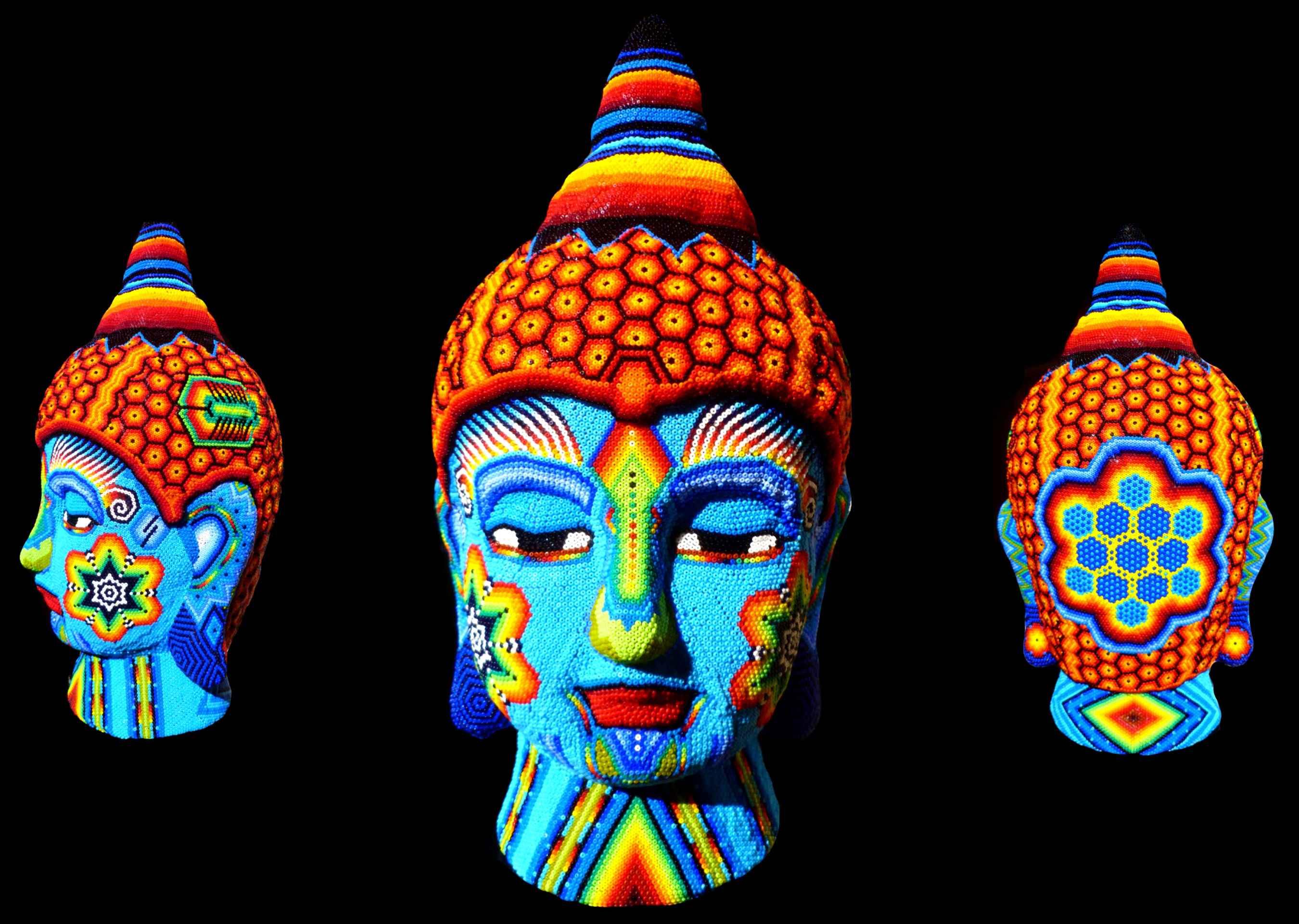 Blue Buddha  by  Joshua